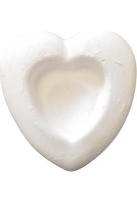 Birevcil 25 Adet Kuşlar Için Birevcil Kalpli Gaga Taşı (Kutusuz) 5X5X2 cm
