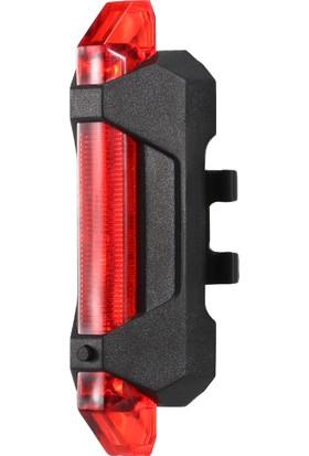 Buyfun 3'lü Süper Parlak USB Şarj Edilebilir Bisiklet Arka