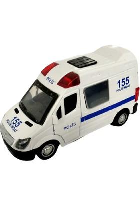 Kembay Oyuncak Metal Çek Bırak Polis Arabası