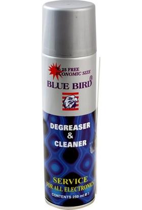 Bluebird Degreaser Cleaner Yağsız Kontak Sprey 250 ml Mavi