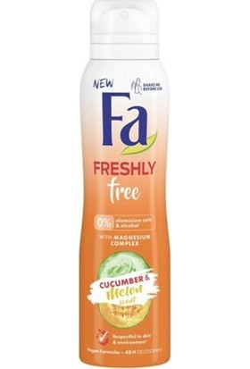 Fa Cucumber & Melon Deodorant Sprey 150ML