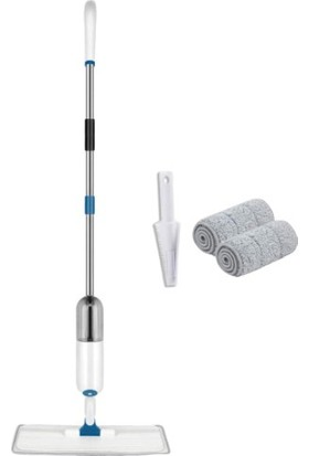 Molto Skstore Sprey Mop Yedek Bezli Deterjan Hazneli Paspas Temizlik Siprey Spray Tablet Mop