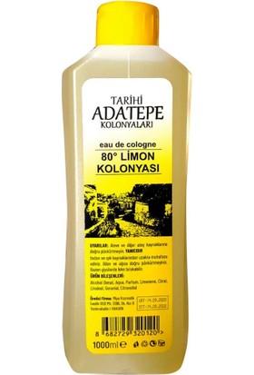 Tarihi Adatepe Kolonyaları 80 Derece Limon Kolonyası 1 lt