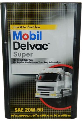 Mobil Delvac 20W-50 Ağır Hizmet Motor Yağı 18 lt