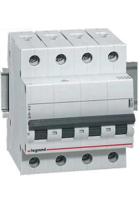 Legrand Trifaze Nötr Kesmeli 4X25A C Tipi Otomatik Sigorta 6ka 403706