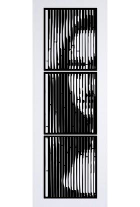 Omart Design Mona Lisa Metal Duvar Aksesuarı