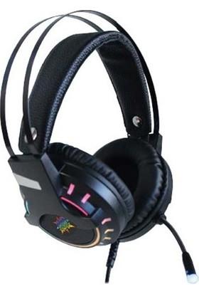 Inca IGK-TX16 7.1 USB Surround Rgb Işık Efektli Oyuncu Mikrofonlu Kulaklık Siyah