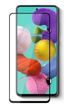 Linkage Samsung A10 Kavisli Tam Kaplayan 9d 12D Ekran Koruyucu Film