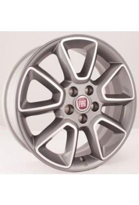 """Opar Fiat Doblo (2010 ve Sonrası) 16"""" Silver Çelik Jant Takımı (4 Adet) Opar (55173450)"""