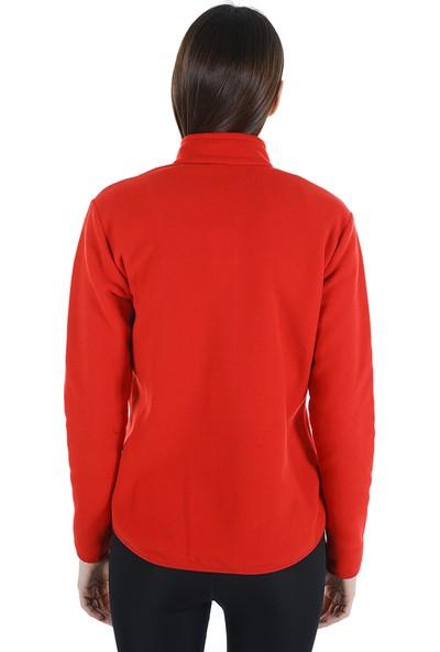 Diandor Kadın Polar Hırka 7002 Kırmızı/red 21W42007002
