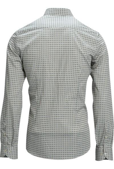 Lufian Kulma Smart Gömlek Slim Fit Bej