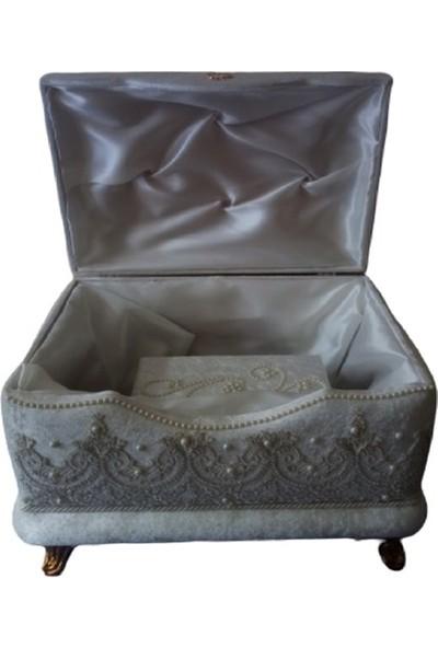 Sonem Çeyiz öz Nişan Bohça Gelin Düğün Çeyiz Sandık 2li 0405B