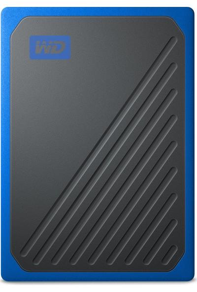 WD My Passport Go 2TB Black w/Cobalt Trimt Taşınabilir SSD WDBMCG0020BBT-WESN