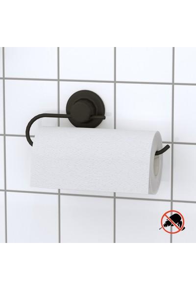 Teknotel Delme Vida Matkap Yok! Vakumlu Kağıt Havluluk Mat Siyah DM240