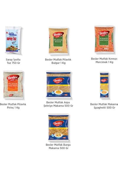 Besler Gıda Mutfak Bakliyat Seti 7'li