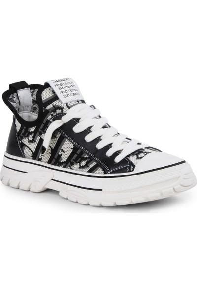 Jabotter Negro Siyah Beyaz Spor Ayakkabı