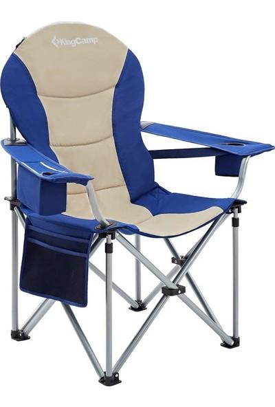 Kingcamp Deluxe Sandalye (Mavi/bej)