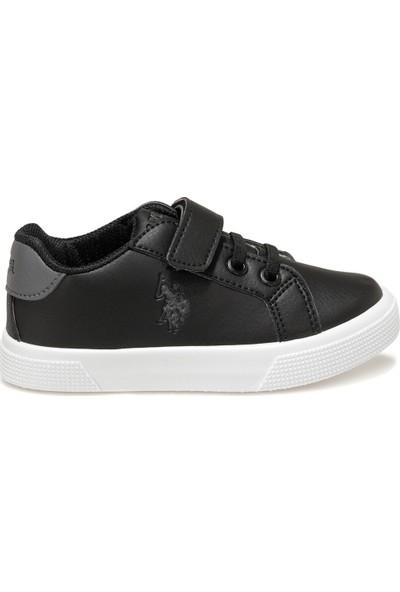 U.S. Polo Assn. Wellına Siyah Erkek Çocuk Sneaker Ayakkabı