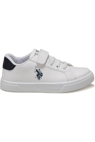 U.S. Polo Assn. Wellına Beyaz Erkek Çocuk Sneaker Ayakkabı