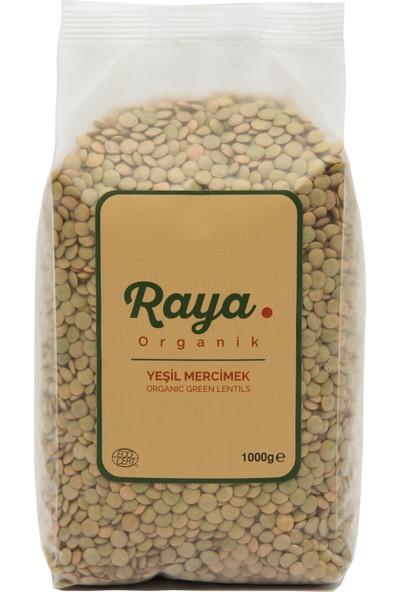 Raya Organik Yeşil Mercimek 1 kg