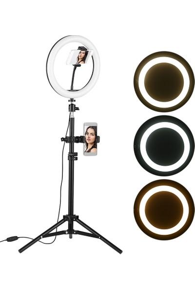 """Docooler 10"""" Masaüstü LED Video Halka Işık Lambası (Yurt Dışından)"""