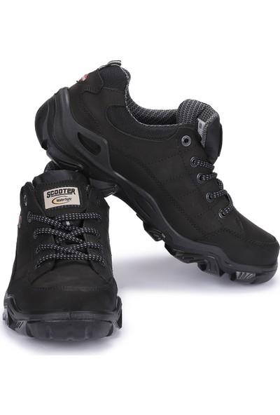 Scooter X1646 Everest Su Geçirmez Büyük Beden Erkek Ayakkabı Siyah