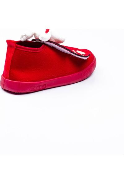 Sanbe 106 S 132 Kırmızı Kız Çocuk Panduf