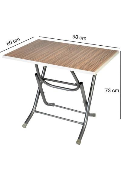 Lovera 60 x 90 cm Ahşap Katlanır Masa
