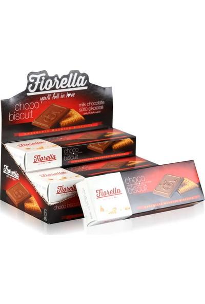 Fiorella Chocobiscuit Sütlü Çikolatalı Bisküvi 102 gr x 6'lı