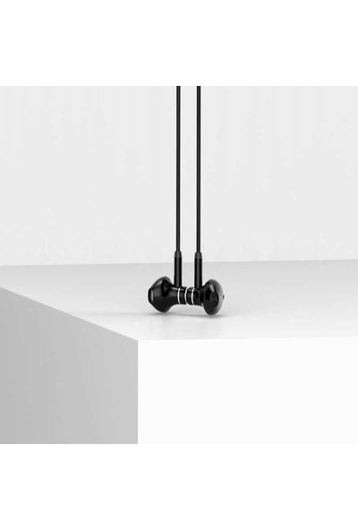 Benks E01 Earphone Serisi 3.5mm Kulak Içi Stereo Kulaklık Black