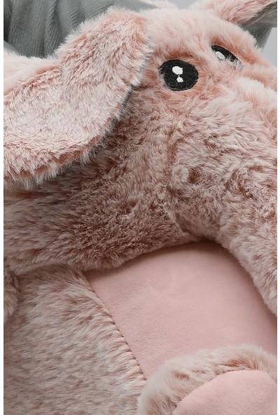 Twigy TT0741 Elephant Pembe Kışlık Kadın Panduf