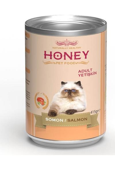 Honey Somonlu Kedi Konservesi 400 gr