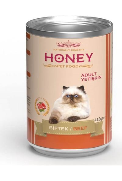 Honey Biftekli Kedi Konservesi 400 gr