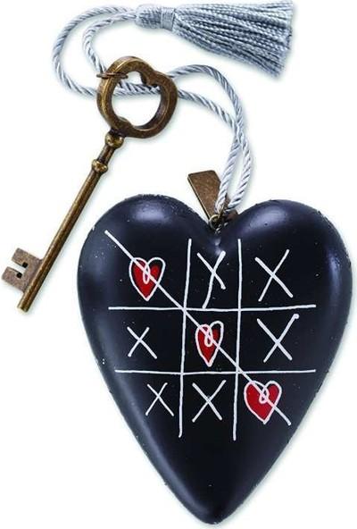 ENESCO Art Heart Tic Tac Toe Figür