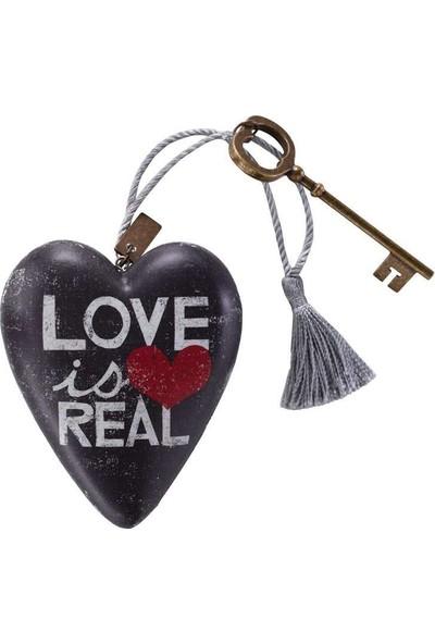 ENESCO Art Heart Love Is Real Figür