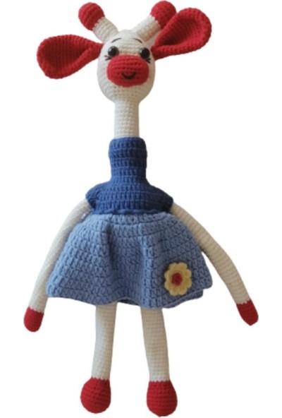 Amigurumi Toys 90 Amigurumi El Örmesi Tavşan Bebek Oyuncak