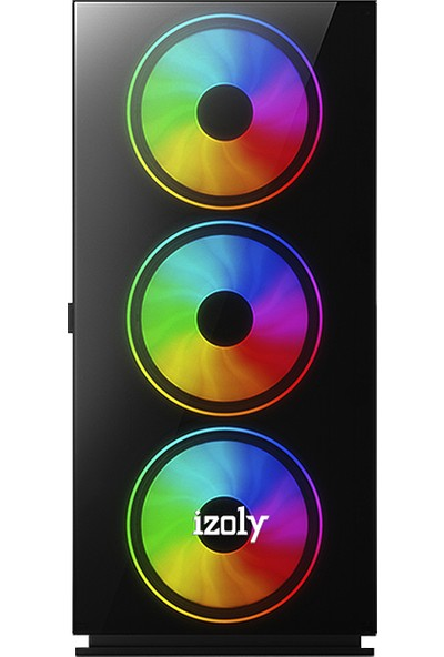 "İzoly K200 Intel Core i5 750 8GB 120GB SSD R7 240 Freedos 20"" Masaüstü Bilgisayar"