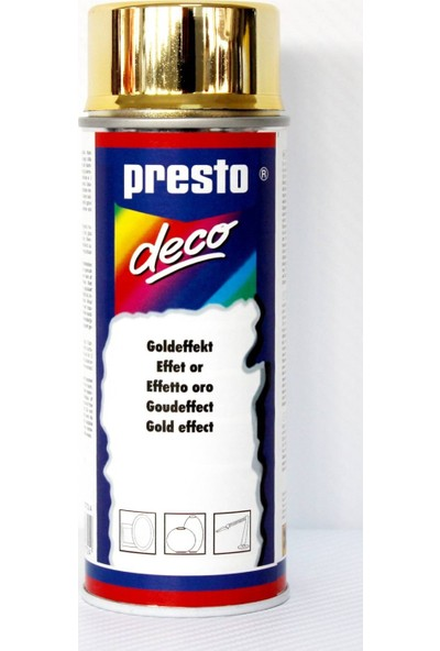 Presto Altın Sarı Sprey Boya 90F30772