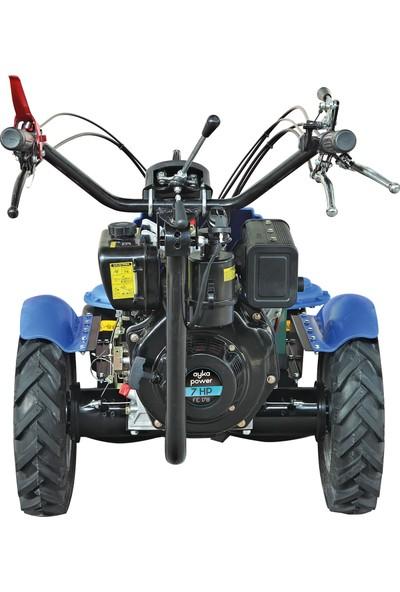 Ayka SF 970 Tamburlu Ot Biçme Makinesi 178 FE 7 hp Dizel Marşlı Motor