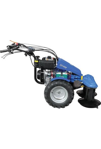 Ayka SF 970 Tamburlu Ot Biçme Makinesi Antor 6LD400 8,5 hp Dizel Marşlı Motor