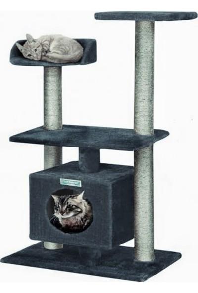 Turkuaz Pet Tr427 Newsculptor Katlı Kedi Evi Kedi Tırmalaması