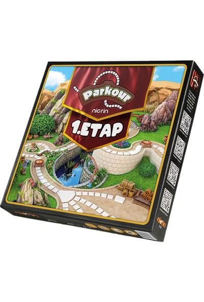 Parkur 1. Etap Aile ve Eğlence Kutu Oyunu
