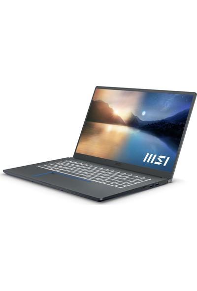 """MSI Prestige 15 A11SCS-035TR Intel Core i7 1185G7 16GB 512GB SSD GTX 1650Ti Windows 10 Home 15.6"""" FHD Taşınabilir Bilgisayar"""