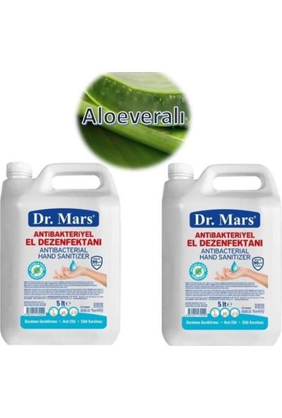Dr. Mars 5 lt 2 Adet Aloe Veralı Antibakteriyel Alkollü El Dezenfektanı