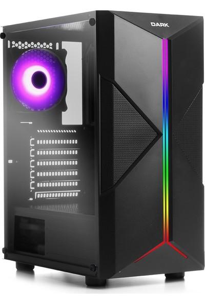 Teknobiyotik Intel Core i3 9100F 8GB 240GB SSD RX560 Freedos Masaüstü Bilgisayar (DK PC HB 9100F RX560)