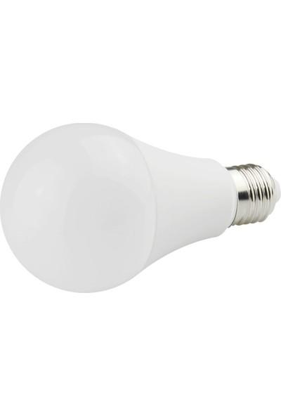 N&D Lightning 9W E-27 Duylu 820 Lümen LED Ampul Beyaz 10'lu
