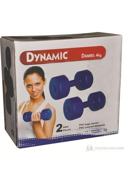 Dynamic Vinly Dambıl/2 Adet 4 kg -1dyasvınyl/4k