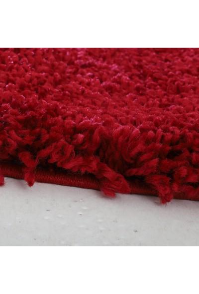 Queen Home 2044 Kırmızı Shaggy Halı 100 x 130 cm