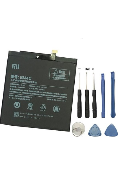Route Xiaomi Mi Mix BM4C Batarya Pil + Tamir Seti