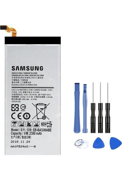 Route Samsung A5 2015 Batarya Pil A500F + Tamir Seti EB-BA500ABE
